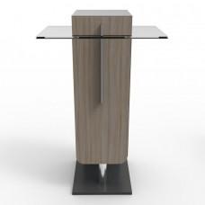 Meuble en bois pour machine a café bureau type expresso, machines à dosettes ou capsules