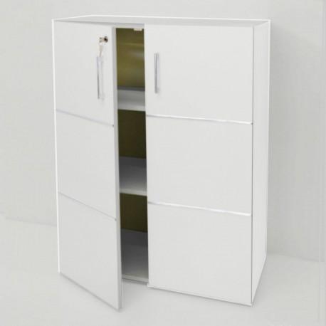 Meuble de rangement etag res biblioth que blanche opticlass - Meuble de rangement bibliotheque ...