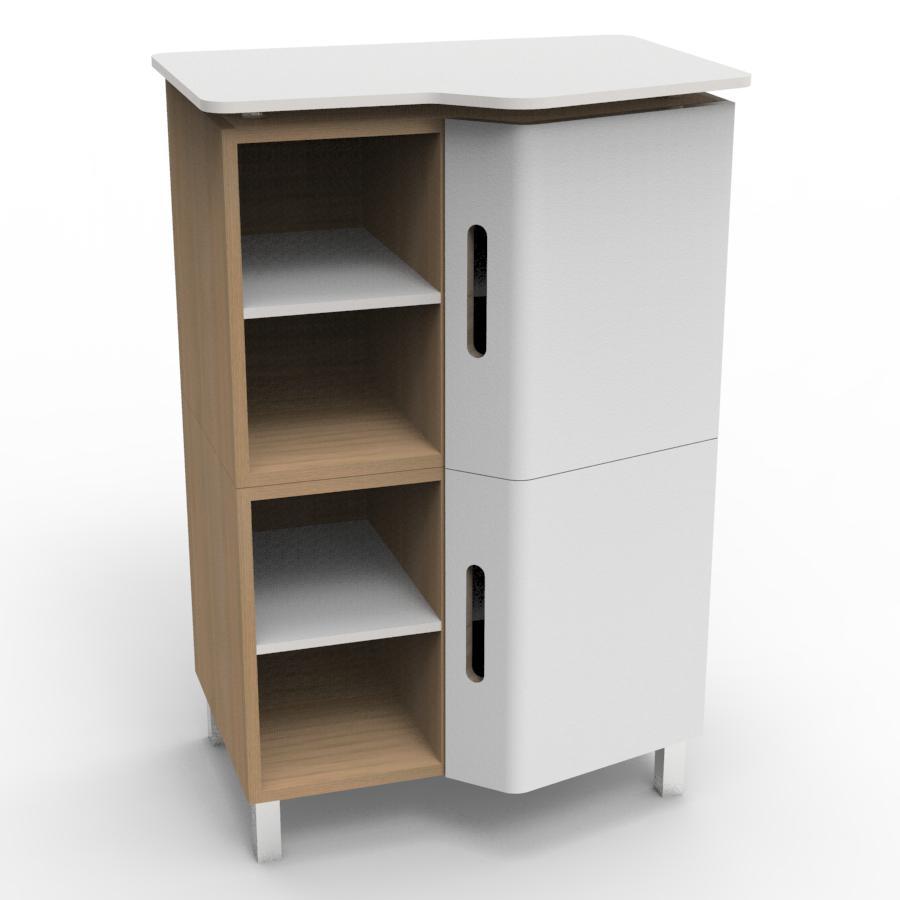 meuble suspendu de bureau machine a caf design scandinave. Black Bedroom Furniture Sets. Home Design Ideas