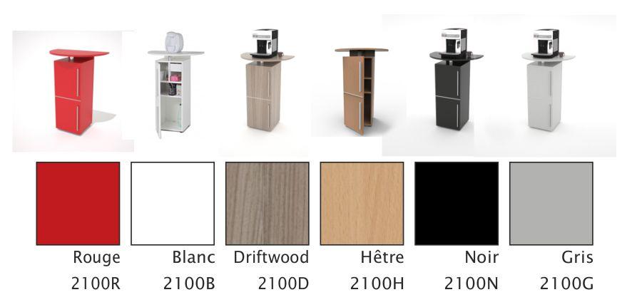 meuble pour machine caf expresso blanc. Black Bedroom Furniture Sets. Home Design Ideas