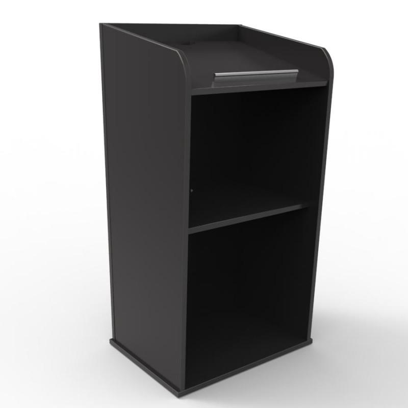 pupitre de conf rence studorium en bois noir pas cher 1ier prix et solide. Black Bedroom Furniture Sets. Home Design Ideas