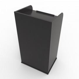 Pupitre de Conférence bois noir pas cher solide design