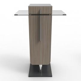 Meuble machine à café bois driftwood pour machines à café expresso à dosettes ou machines à café traditionnelles