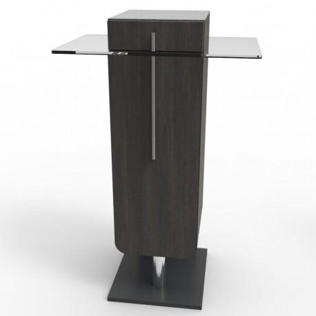 meuble pour machine caf en bois avec plateau inox et verre pour entreprises. Black Bedroom Furniture Sets. Home Design Ideas