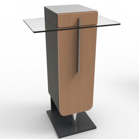 Meuble pour machine à café type expresso, cafetiere pour pause café entreprises