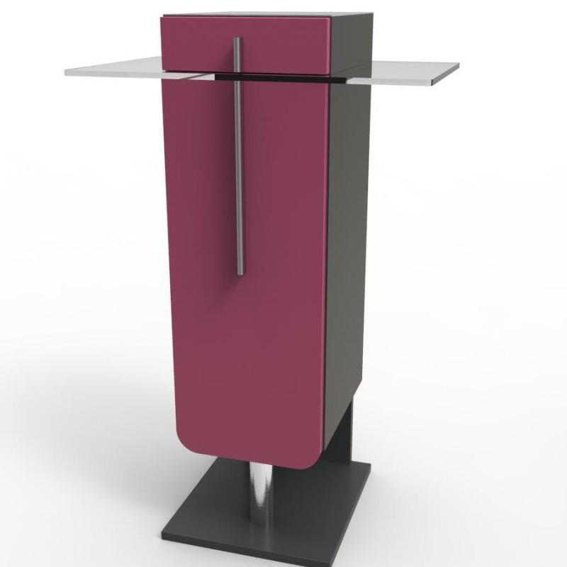 meuble machine caf rose pour cafeti re type expresso d 39 entreprises hotels. Black Bedroom Furniture Sets. Home Design Ideas