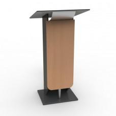 Pupitre de conférence bois pour discours et réunion, pupitre livré monté