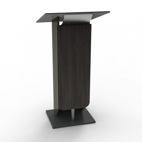 Pupitre de conference pour discours meuble pupitre conference Wenge