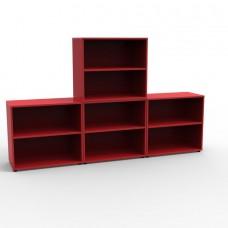 Meuble rangement bureau en bois pour archives et classement