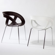 Chaise de bureau empilable pour visiteurs d'entreprise et collectivité