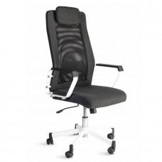Fauteuil de bureau design et confortable en tissu et maille pour directeur, responsable, manager