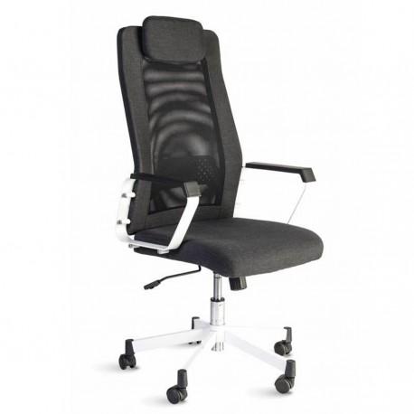 Fauteuil de bureau design et confortable en tissu et maille pour directeur