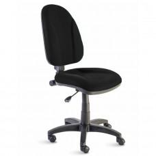 Chaise de bureau confortable en tissu pour entreprises, écoles, collectivités