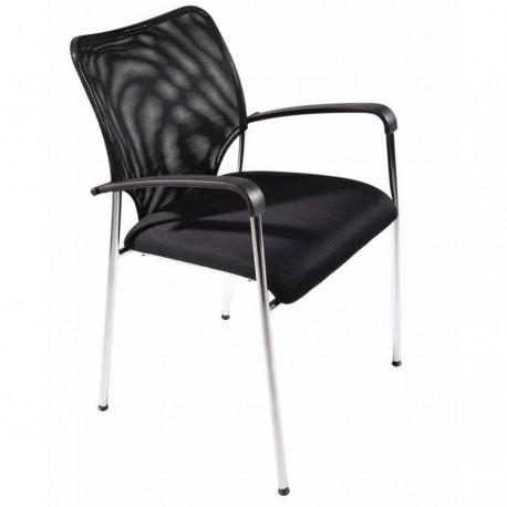 chaise de bureau design pour visiteurs bureau salle de r union hall d 39 accueil. Black Bedroom Furniture Sets. Home Design Ideas