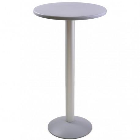 Table haute mange debout pour espace café collectivités, ateliers et associations