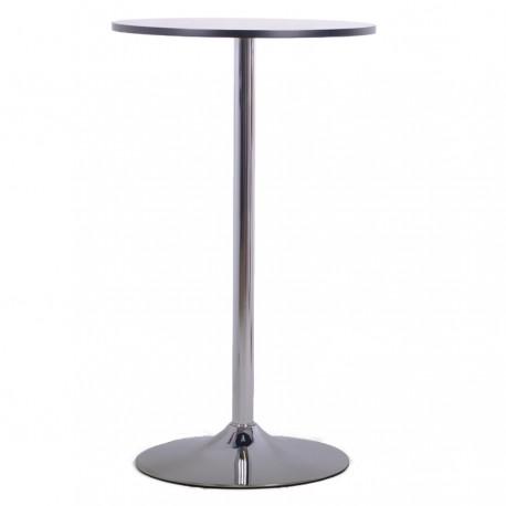 Table haute avec plateau 60 cm pour espace d'accueil et salle de pause