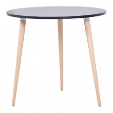 Table scandinave design noir WINA