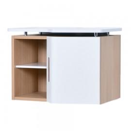 Meuble suspendu pour machine à café qui est idéal pour des cuisines et salles de pause ou bureaux de chr ou pme