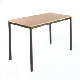 Table d'appoint 60x120 cm écoles réunions associations entreprise hêtre