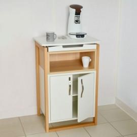 Meuble machine a cafe de qualité professionnelle pour des entreprises qui souhaitent un meuble avec des matières en bois