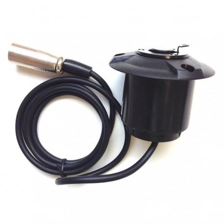 Cable XLR avec Embase XLR et Fiche XLR pour votre pupitre de conférence