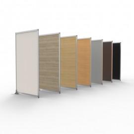 Cloison amovible pour bureau qui est déclinable en plusieurs coloris pour tous vos intérieurs de bureau ou open space