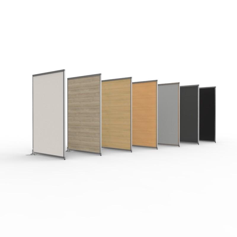 cloison de s paration pour bureau en bois pour entreprise. Black Bedroom Furniture Sets. Home Design Ideas