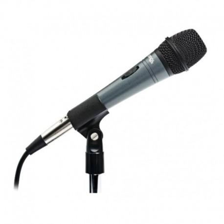 Micro pour conférence à main noir pour pupitre de conférence, pupitre orateur