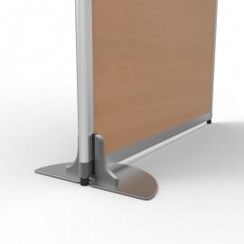 Pied de stabilisation pour cloison de bureau amovible vous permettant de tenir en place vos cloisons dans votre entreprise