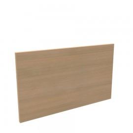 Façade en bois pour bureau en chene clair convenant aussi bien pour les bureaux ONDULO que pour les comptoirs d'accueil