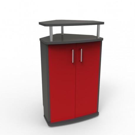 Meuble angle pour machine à café pour entreprise et collectivité / CHR
