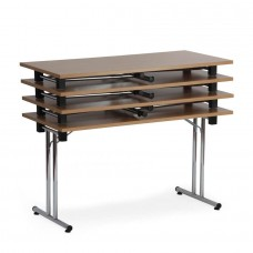 Table d'appoint pliable et empilable 180 cm pour bureau et école
