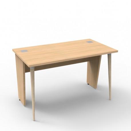 Bureau compact 120 cm en bois coloris, Vente de bureau bois