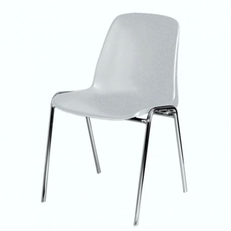 Chaise empilable et accrochable pour salles de réunion