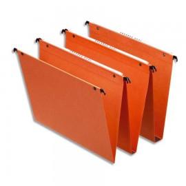 Dossier suspendu dans un kit de 25 convenant pour le caisson de bureau à 2 tiroirs en bois proposés par Vente Directe PME