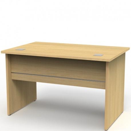 Bureau moderne en bois coloris au choix pour professionnels