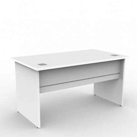 Bureau en bois 160 cm résistants avec coloris au choix