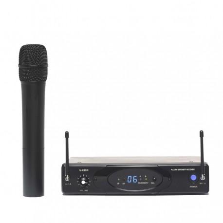 Micro sans fil pour pupitre de conférence ou événement entreprise