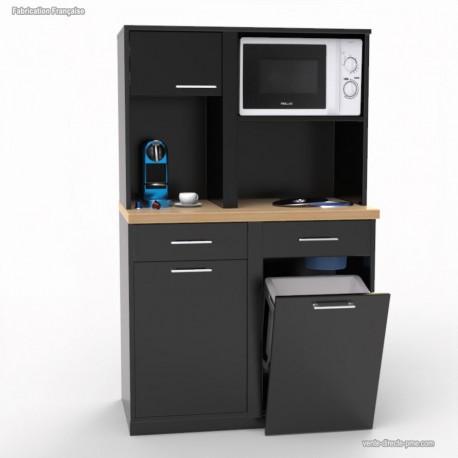 Rehausse Graphite pour meuble machine à café professionnel