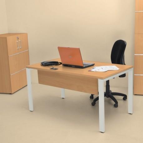 Sweet Office - Bureau bois professionnel 138cm hêtre