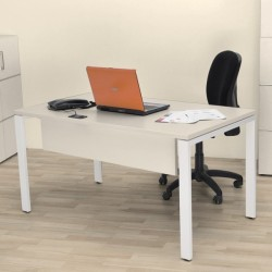 Sweet Office - Bureau 178cm blanc