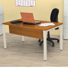 Sweet Office - Bureau bois professionnel 138cm merisier