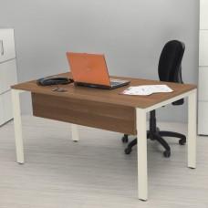 Bureau en bois de noyer design pour direction et secrétaire
