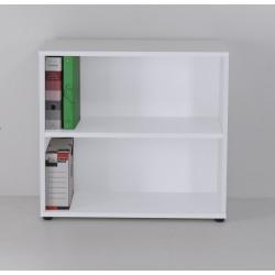 Meuble rangement bureau blanc idéal pour vos dossiers et boites d'archive pour votre entreprise ou association