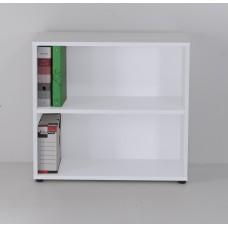Meuble rangement bureau en bois pour archives et classement livré monté