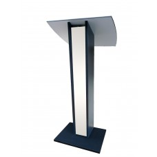Lutrin de conférence en bois blanc pour vos conférences et discours