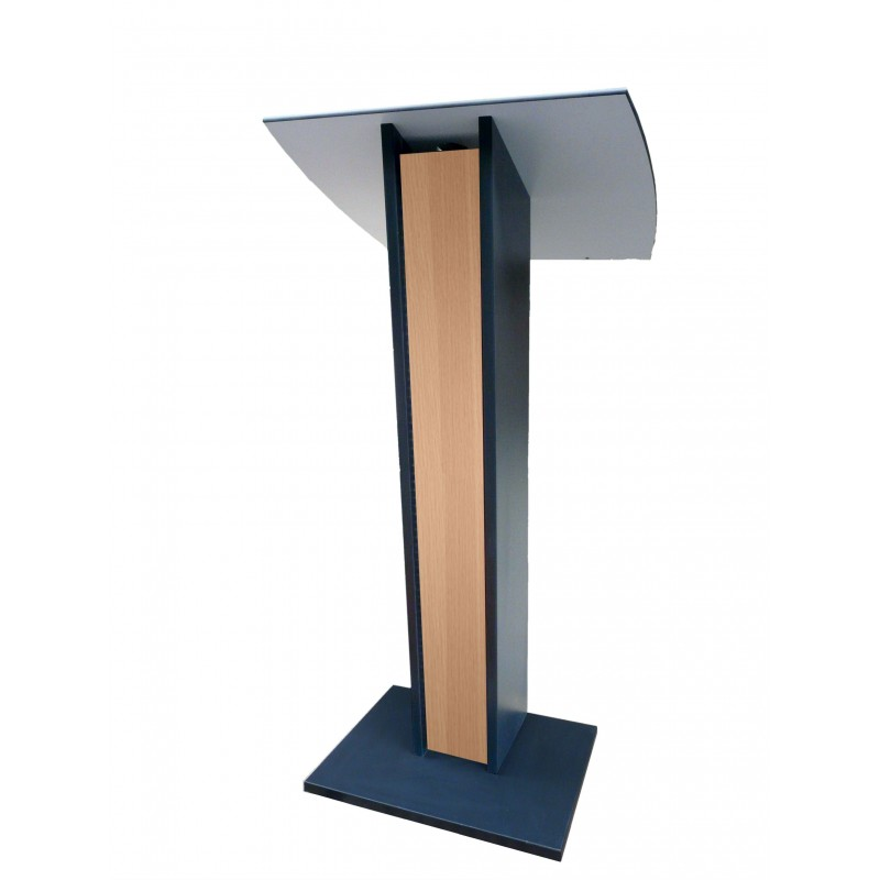 pupitre de conf rence pour discours en bois sonoris h tre. Black Bedroom Furniture Sets. Home Design Ideas