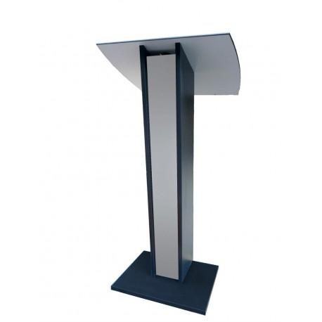 pupitre de conference en bois gris clair pupitre orateur conference pas cher. Black Bedroom Furniture Sets. Home Design Ideas