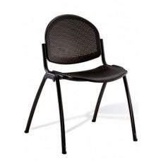 Chaise empilable bureau pour bureau et salle de réunion d'entreprise