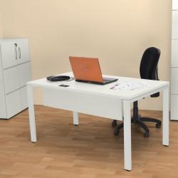 Sweet Office - Bureau 158cm blanc
